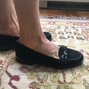 Talbots Shoes - Talbots Black Loafers